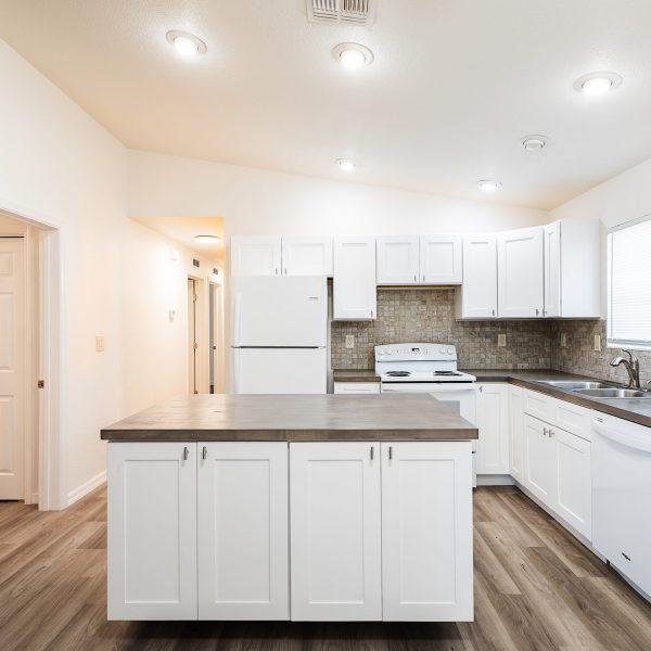 remodel kitchen; modern cabinet